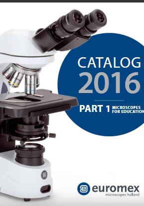 Euromex catalogus 2016 education